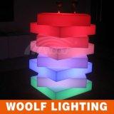 屋外のイベントの段階LEDのダンス・フロアを配管し、おおいなさい