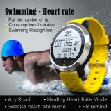 IP68 Waterproof o relógio esperto do esporte (Swimming+heart rate+Pedometer)