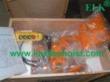 Élévateur à chaînes électrique des élans 1t avec le chariot électrique
