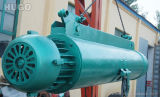 Saling上の鋼鉄ケーブルの電気ウィンチワイヤーロープの電気起重機の工場