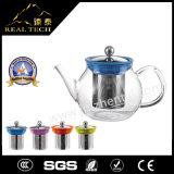 POT utile di vendita caldo del tè di stile giapponese di vetro di Borosilicate del regalo di natale