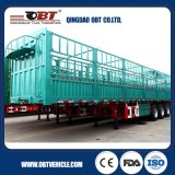 De China da maioria de carga de transporte da porta lateral da cerca reboque resistente Semi