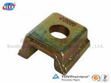 Oiled liso KPO Type Rail Clamp para Railway Fastening