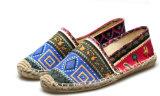 人(MD 15)のための2016の特別なパターン平らな麻の靴