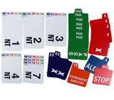 El papel substituye las tarjetas para el puente de contrato y el puente del artículo con llave de validación