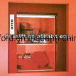 Ascenseur de Dumbwaiter avec la porte de véhicule en verre