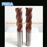 Hartmetall-Inch-Größe bearbeitet CNC HRC55/60