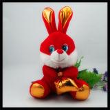 싼 OEM 승진 선물 아기 제품은 견면 벨벳 토끼 토끼 장난감을 채웠다