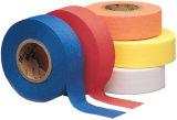 蛍光および浮彫りになることを用いるフラグを付けるテープ