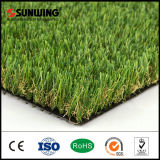 Grama de tapete verde artificial decorativa do preço barato