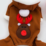 Vêtement d'animal familier d'usure de mode de vêtements de crabot de Noël heureux d'année neuve