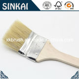 Verbogenes Brush mit Long Wood Handle und Tin Ferrule