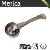 4 PCSのステンレス鋼の測定のスコップ