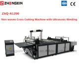 Ultraschallschweißens-Kreuz-Ausschnitt-Maschine Zxq-A1200