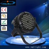 LED 단계 점화 84PCS 3W RGBW LED 동위 빛