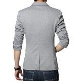 Beiläufiger Blazer-Mann-Qualität Blaser Form-Baumwollklage-Blazer