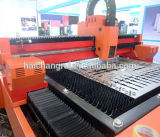máquina de gravura da estaca do laser da fibra do CNC do metal 1000W