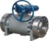 Шариковый клапан кованой стали A105 изготовления 3pieces установленный Trunnion