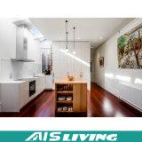 Mobília do gabinete de cozinha da porta do PVC com cores diferentes da melamina (AIS-K078)