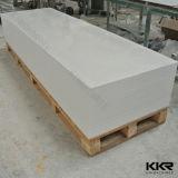 Surface solide acrylique de partie supérieure du comptoir de Kkr de Faux de résine matérielle en gros de pierre (M161125)