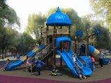 Скольжение игрушки спортивной площадки малышей парка атракционов оборудования спортивной площадки детей