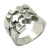 Anillo de imitación de la cruz de la manera del anillo de la plata del modelo nuevo de la alta calidad