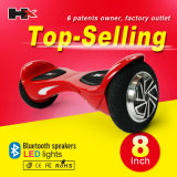 Vespa de equilibrio del uno mismo de la rueda de Hx 2, Hoverboard eléctrico con el altavoz dural de Bluetooth