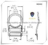 La qualité d'OIN 9001 a modifié les boucles en acier de zinc de la double fente