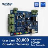 Sola tarjeta del control de acceso de la puerta de Wiegand con control de acceso de RFID