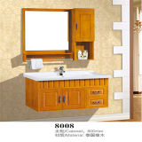 Side Cabinetの競争のPrice Wall Mounted Wood Bathroom Vanity