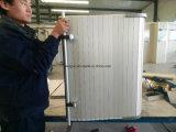 Aluminiumsilberne rollen oben Tür Fx-0055