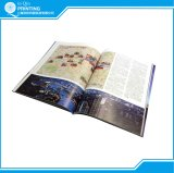 B/W e impressão Softcover do livro da cor cheia