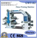 Machine de met gemiddelde snelheid van de Druk van Flexegraphy van 4 Kleuren in Verkoop