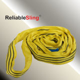 2ton Cina Polyester 100% Yellow Round Slings Supplier