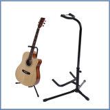 Stand droit de guitare basse d'instruments de musique