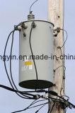 폴란드는 단일 위상 기름 배급을 10 kVA 변압기 가격 거치했다