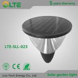 Luces solares integradas para el jardín o el parque