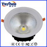 30W 8inch Dimmable에 의하여 중단되는 알루미늄 옥수수 속 LED 아래로 가벼운 LED Downlight