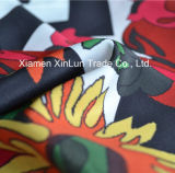 Tela africana al por mayor de la impresión de la cera de Poyester para la ropa de la alineada