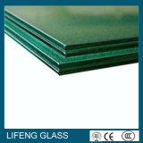 Ясно, серо, бронзово, стекло зеленой PVB безопасности f прокатанное