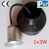 IP67 Tricolor 3W Small LED Underground Light (JP820216)