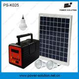 Ventilador de energia solar de 12V DC com energia solar verde com sistema de iluminação LED para família
