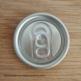 Tampas da lata de bebida de alumínio 50mm tampa aberta fácil de 200 tamanhos