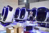 Cadeira engraçada de Vr do cinema da realidade virtual do cinema de Vr do ovo do equipamento 9d do parque de diversões dos jogos
