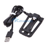 2 in 1 USB Data Cable di Micro con Phone Holder
