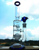 K-48 16inch 50diameter 5thickness Beaker Base 7mm Honeycomb Disc Perc aan de Waterpijp van Showerhead Glass Smoking