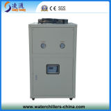 Ti Tube Anti-Corrosion Air Cooled Water Chiller per Electroplate