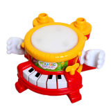 Flash Light (H4646017)를 가진 플라스틱 Musical Drum Toys