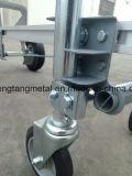 3 em 1 caminhão de mão resistente de alumínio com de quatro rodas