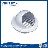 Qualitäts-Marken-Produkt Ventech runder wasserdichter Wetter-Aluminiumluftschlitz und Gitter